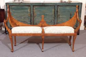 Courting Bench For Sale Old English Hepplewhite Style
