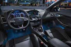 Fox Body Black Interior 2017 Ford Focus St Unstoppable Performance Ford Com