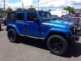 blue jeep jeep wrangler polar edition afterfx customs