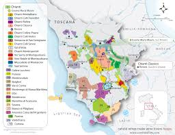 Italy Wine Regions Map by Regional Maps Candid Wines