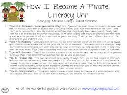 bright ideas slp how i became a pirate literacy unit