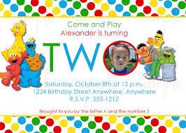 Free Printable Birthday Invitation Cards For Kids Birthday Invites Breathtaking Sesame Street Birthday Invitations