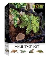 buy exo terra invertebrate terrarium habitat kit in cheap price on