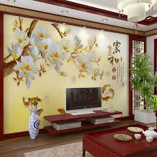 customized large mural 3d wallpaper wall paper bedroom living room customized large mural 3d wallpaper wall paper bedroom living room tv backdrop of modern chinese poetry style golden yellow plum goldfish wall paper large