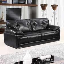 100 Real Leather Sofas Leathaire 100 Real Leather Alternative Black Fabric Sofa Collection