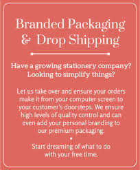 What Is Blind Shipping Fine Stationery Drop Ship Fulfillment Services Printswell