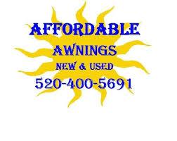 2nd Hand Awnings Affordable Awnings New U0026 Used Awnings Tucson Az Phone