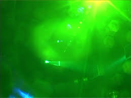 bright green light flares abstract background stock footage