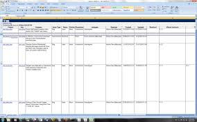 Excel Issue Tracking Template Issue Tracking Spreadsheet Template Excel Haisume