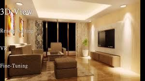 autocad interior design process 2d drawing 3d realistic scene
