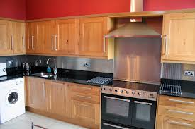 stainless steel backsplash with modern style with tiles and sheets