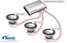 car subwoofer wiring rules learning center sonic electronix