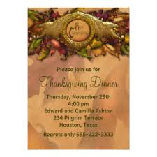 Dinner Party Invitations Elegant Dinner Party Invitations U0026 Announcements Zazzle