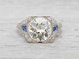 deco engagement ring deco engagement rings erstwhile jewelry nyc