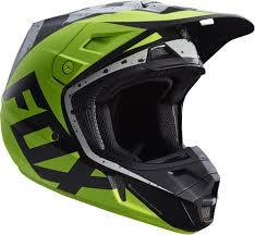 helmets motocross fox downhill jersey fox v2 nirv mx helmet helmets motocross gray