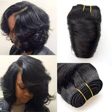 pictures of black ombre body wave curls bob hairstyles barroko hair bob sew peruvian loose wave 4bundles natural black 8
