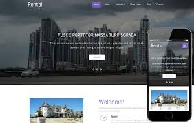 rental a real estate category responsive web template w3layouts com