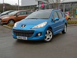 blue peugeot for sale used peugeot 207 allure blue cars for sale motors co uk