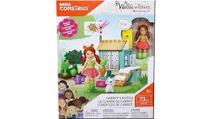Toy Hutch Mega Construx American Wellie Wishers Carrot U0027s Hutch Building
