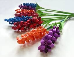 paper flowers diy swirly paper flowers