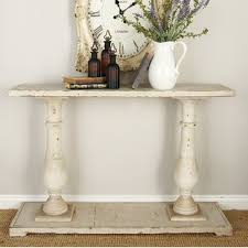 Ivory Console Table Ivory Console Sofa Tables Wayfair