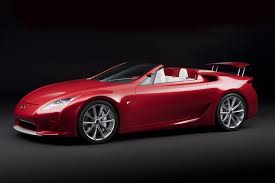 lexus models 2008 2008 lexus lf a roadster concept pictures news research pricing