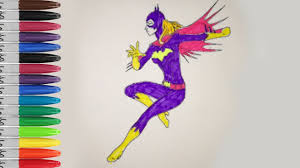 batgirl coloring pages batman and batgirl fun pages sailany
