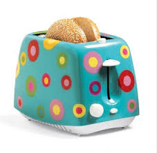 Colorful Toasters Popgadget Personal Technology For Women Pop Toaster