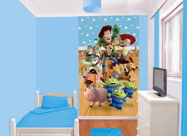 toy story wall mural home design