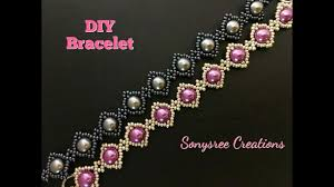 beaded bracelet tutorials youtube images Simple beaded bracelet jpg