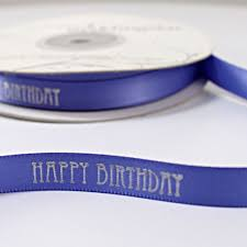 personalized ribbon happy birthday personalized ribbon the knot shop