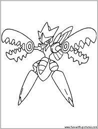 scizor coloring page
