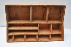 White Wood Desk Organizer by Wood Desk Top Organizers Best Home Furniture Decoration