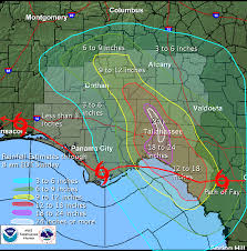 Tallahassee Zip Code Map by Tropical Storm Fay Event Summary