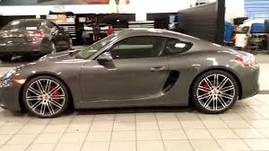 porsche cayman 2015 interior 2015 porsche cayman gts walk around youtube