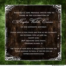sweet 16 invitations formal photo sweet 16 invitation personalized rich custom