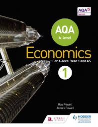 aqa a level economics book 1 ebook by ray powell 9781471829796