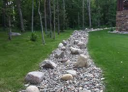 turf tech walker minnesota dry river bed landscaping