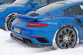 spied porsche 911 gt2 rs conducts winter testing motor trend