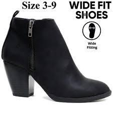s boots wide fit s wide e width heels ebay