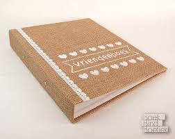 Wedding Books Burlap Wedding Books