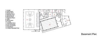 Locker Room Floor Plans Gallery Of Binhai Xiaowai High Hhd Fun 24