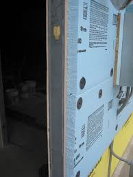 Insulating Basement Walls With Foam Board by Metal Stud Walls With Densglass Sheathing And Foam Board