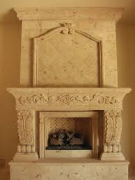 Cantera Stone Fireplaces by Cantera Fireplace Casa De Cantera