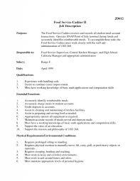 Bank Teller Job Description Resume cashier job description bank teller resume example sample