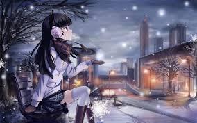 Winter Anime Wallpaper Hd | beautiful winter anime pictures digiatto com hd wallpaper and