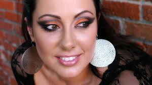 Halloween Makeup Pictures Ideas by Black And Orange Halloween Friendly Look Makeup Geek