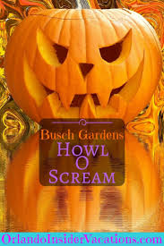 busch gardens halloween horror nights howl o scream 2017 busch gardens tampa orlando insider vacations