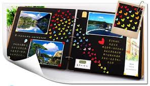 baby yearbook 14 inch photo album diy handmade baby grow album family memory
