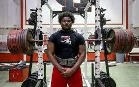 Bench Press Records By Weight Class Mr 800 Harrison Central U0027s Jordon Beaton Has More Records In His